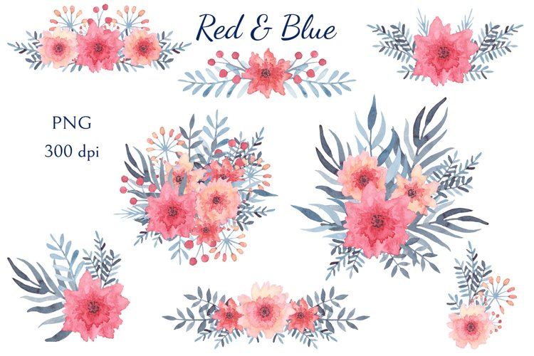 Red & Blue example 4