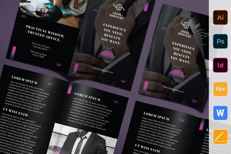 Law Company / Lawyer Brochure Bifold