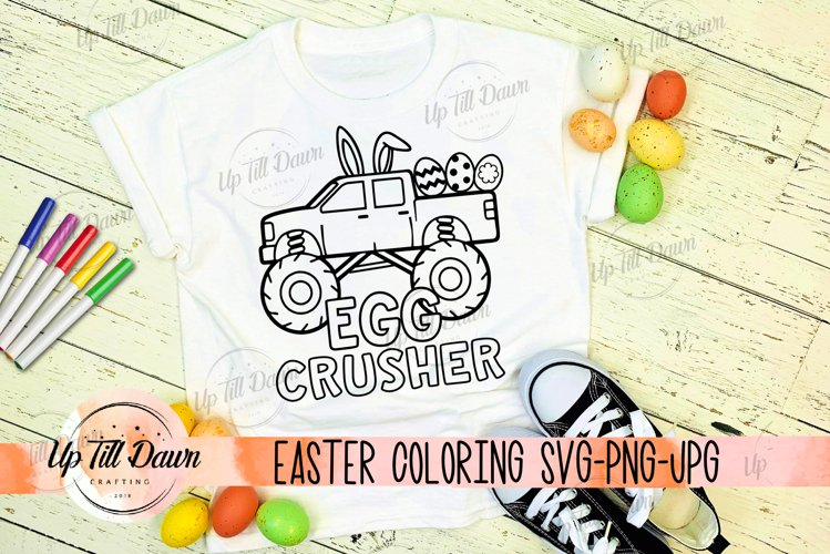 Easter Coloring Shirt