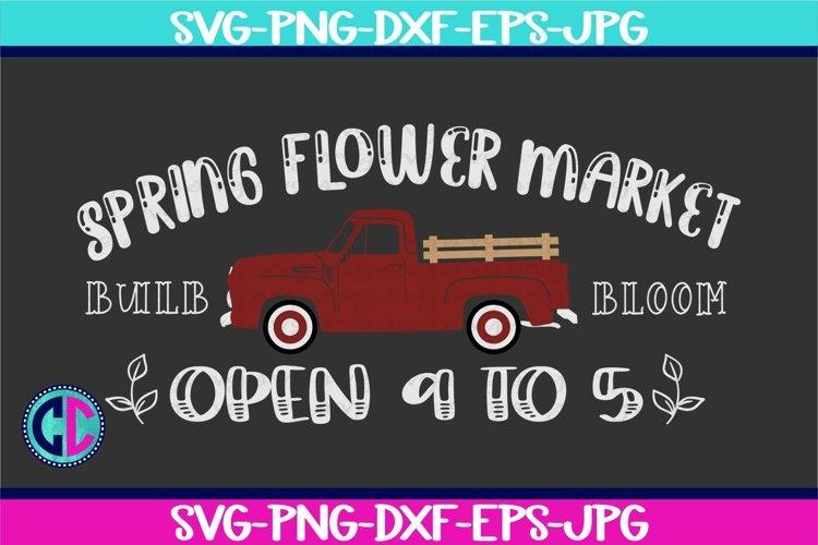 Spring svg, Spring Flower Market svg