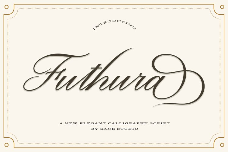 Futhura Script example image 1