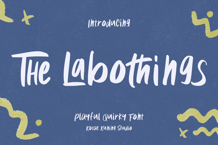 Cute Font - The Labothings example image 1