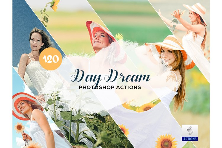 120 Day Dream Photoshop Actions example image 1