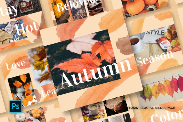 Autumn Social Media Pack example image 1