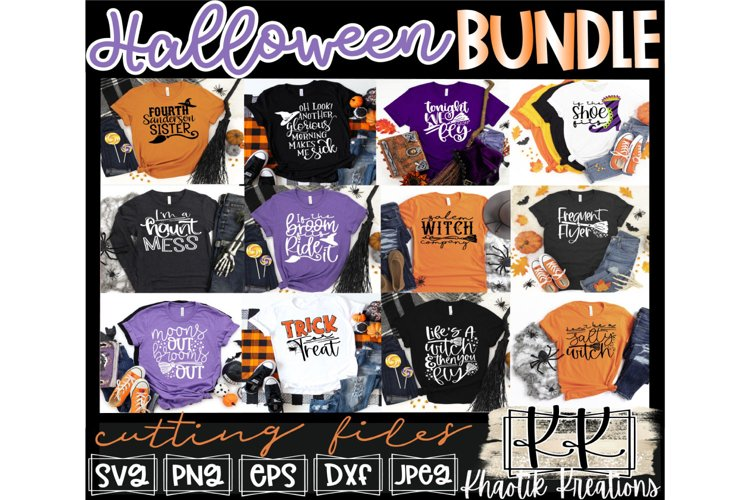 Halloween Svg Bundle, Halloween Svg Designs, Witch Quotes example image 1