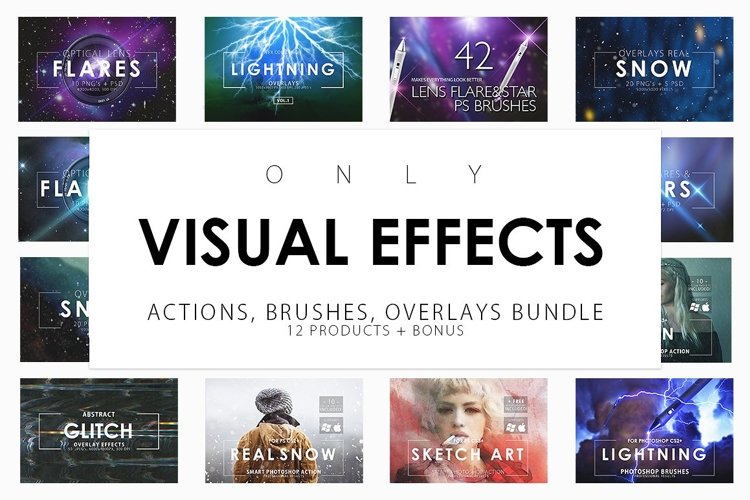 Only Visual Effects Bundle example image 1