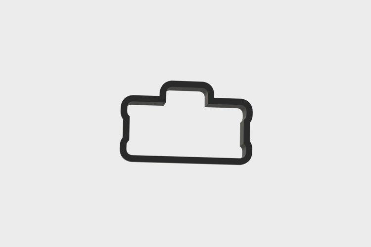 Tool Set ToolBox Cookie Cutter 3d .STL File | 3inch