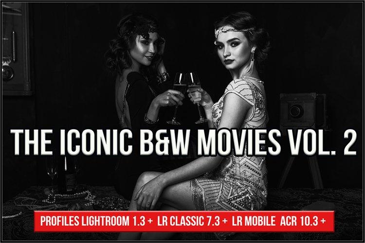 The Iconic B&W Movies Vol. 2 profiles LR, LRC, ACR example image 1