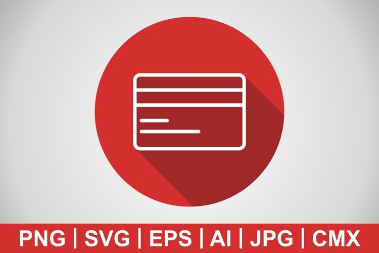 Vector Credit Card Icon example image 1