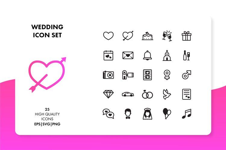 Wedding Icon Set example image 1