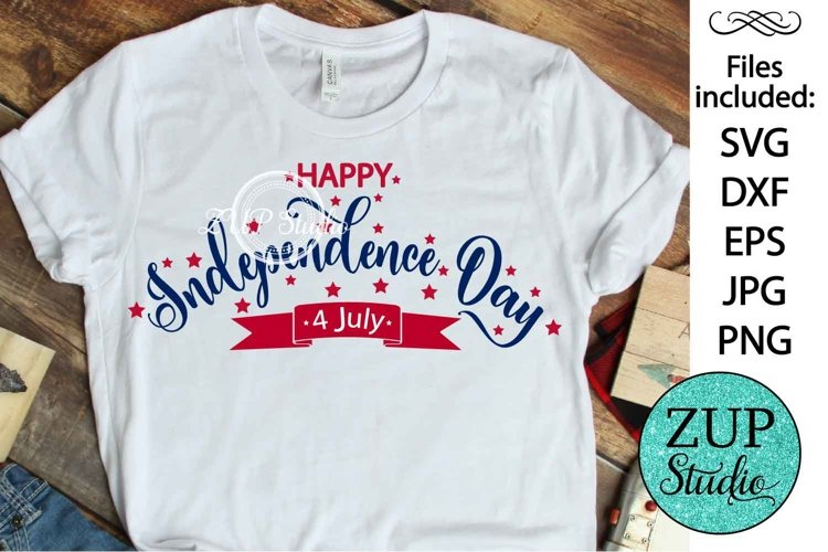 New! America National Day Design Digital Cutting files 490 example image 1