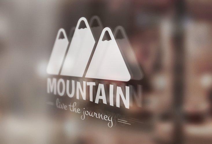 Mountain Logo Template example 5