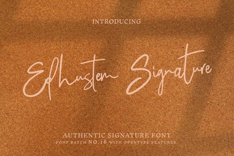 Edhustem Signature example image 1