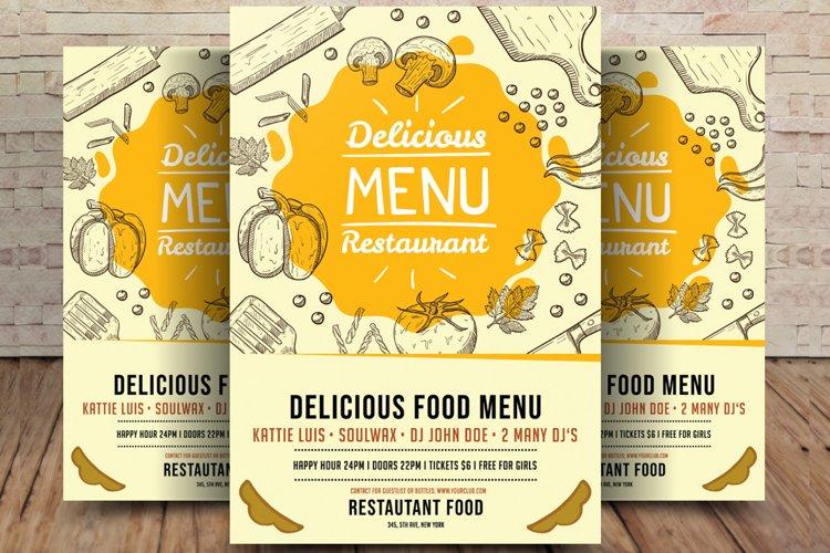 Delicious Food Menu example image 1