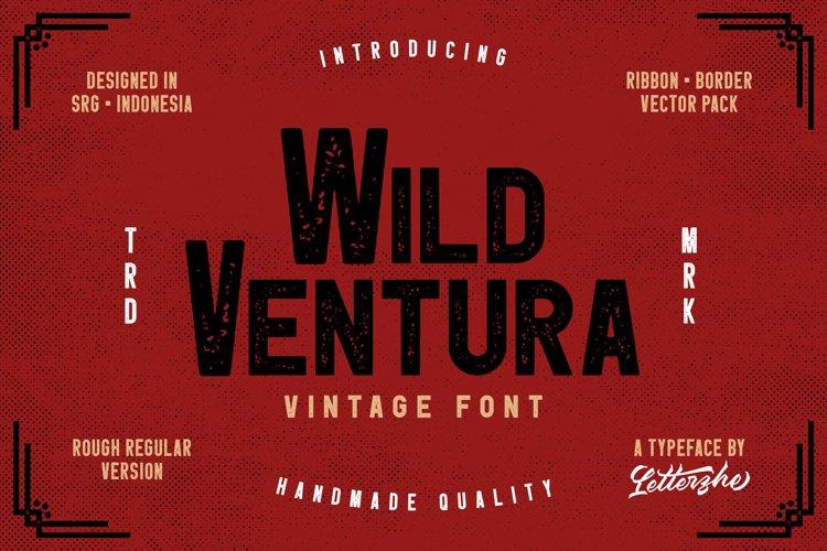 Wild Ventura Vintage Font example image 1