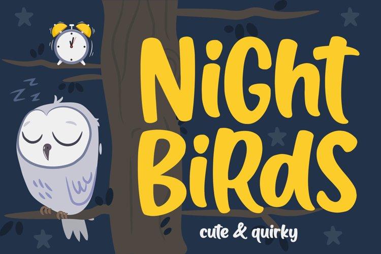 Night Birds example image 1