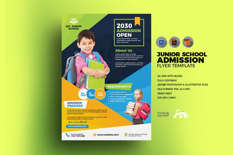 School Flyer Template example image 1