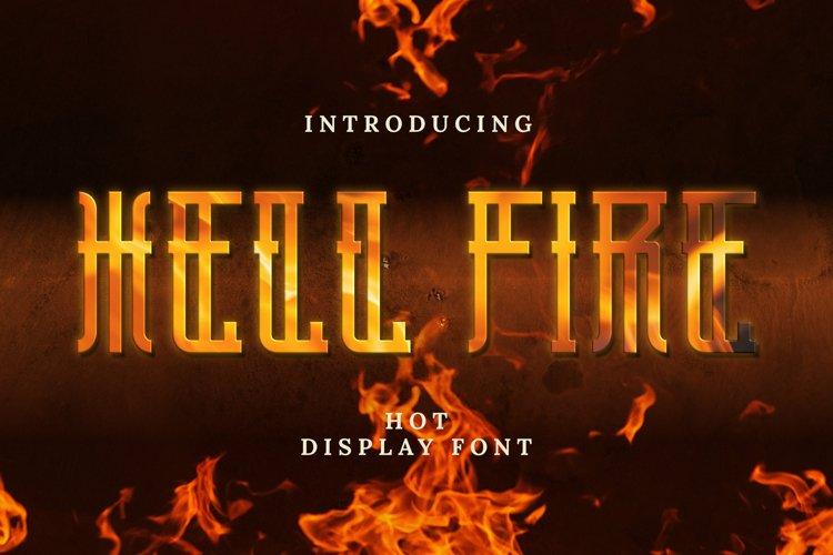 Hellfire Font example image 1