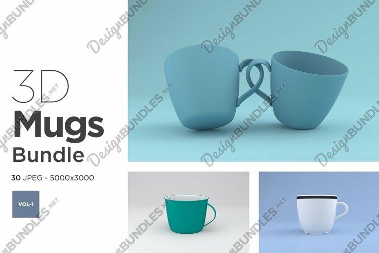 30 Mugs Mockup Images Bundle Vol -1 example image 1