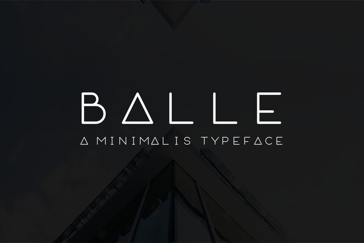 BALLE (Rounded Font)