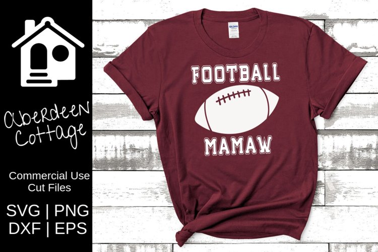 Football Mamaw SVG example image 1