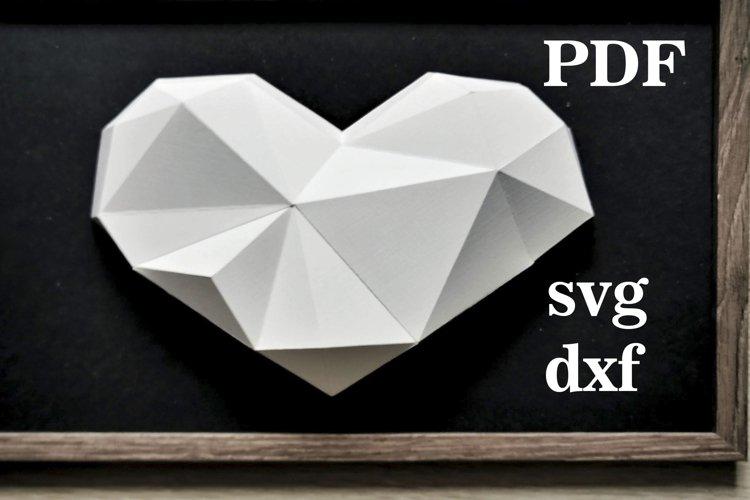 valentines,valentine,3d valentines svg,paper heart,papercraf