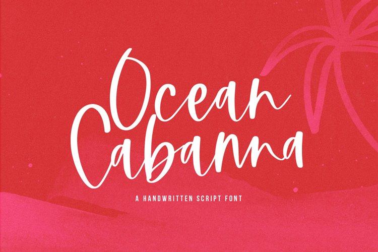 Ocean Cabanna- A Handwritten Script Font example image 1