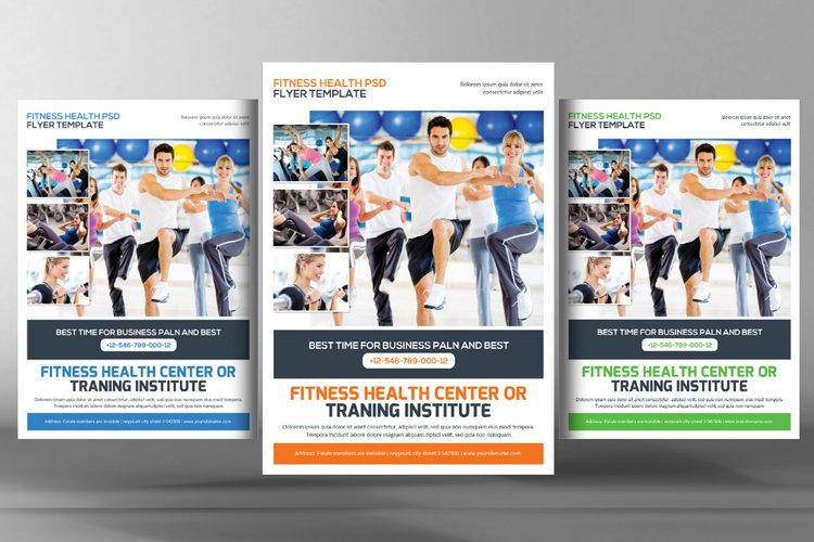 Fitness Training Center Flyer example image 1