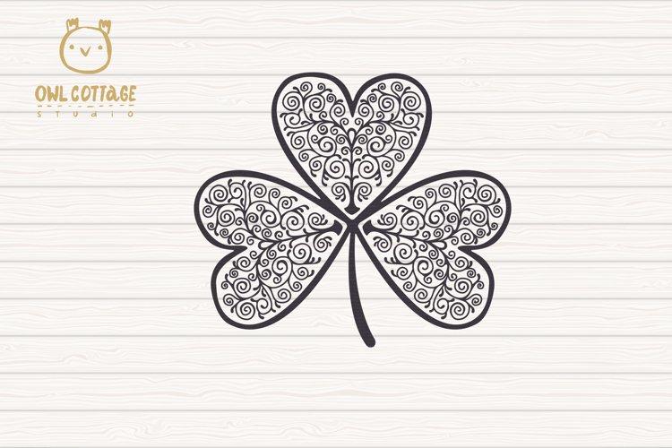 St. Patricks day svg, Clover Leaf, Clover Leaf Tattoo example 2