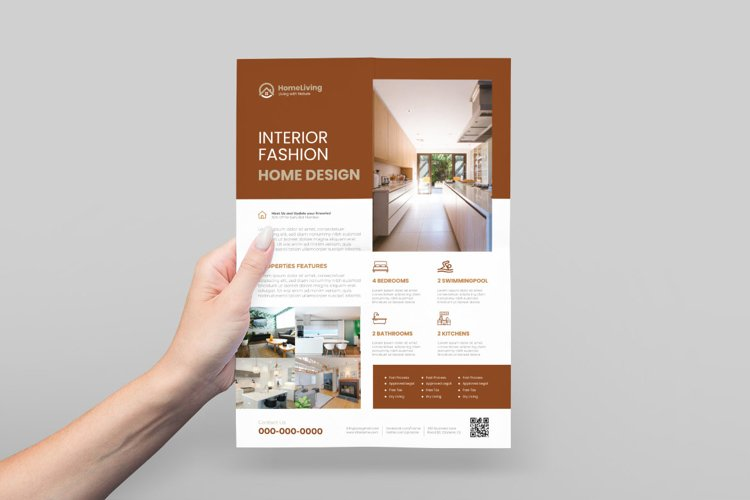 Interior Design Flyer Design example image 1