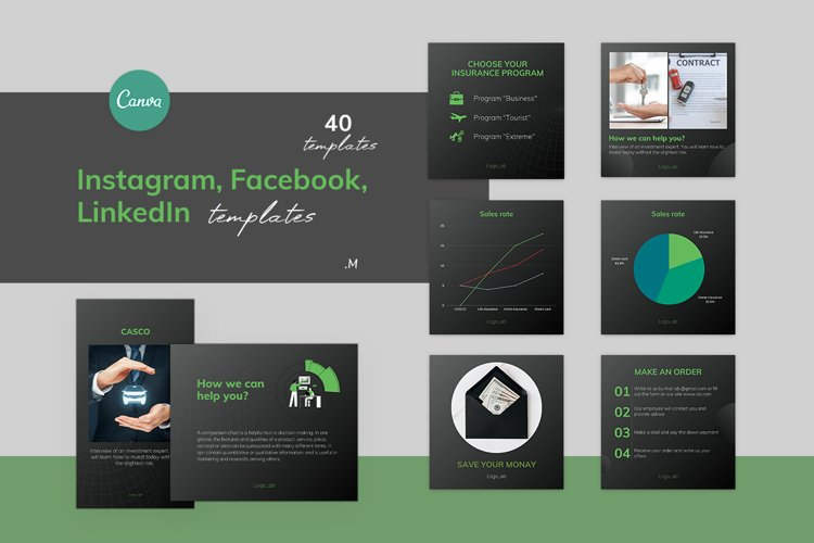 Canva Templates for accountants, bookkeepers, Finance area example image 1
