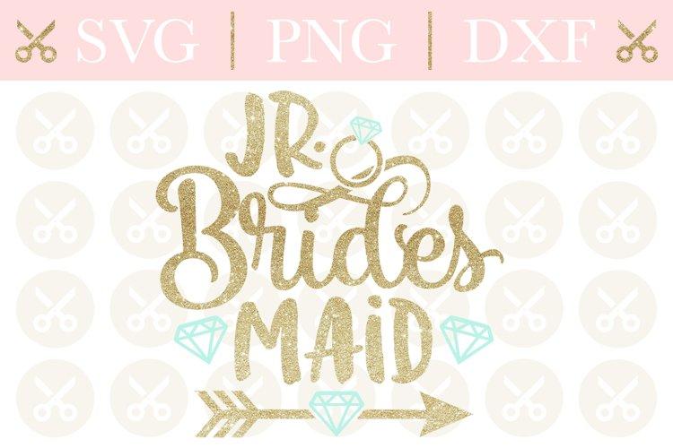 Junior Bridesmaid Svg Wedding Svg Jr. Bridesmaid Svg