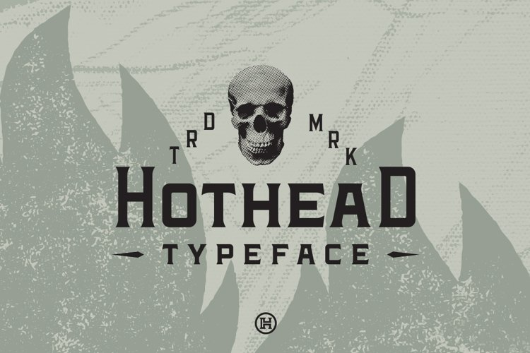 Hothead Western Font example image 1