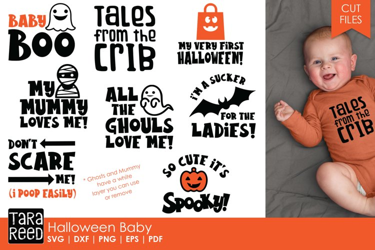 Halloween Baby - Halloween SVG and Cut Files for Crafters