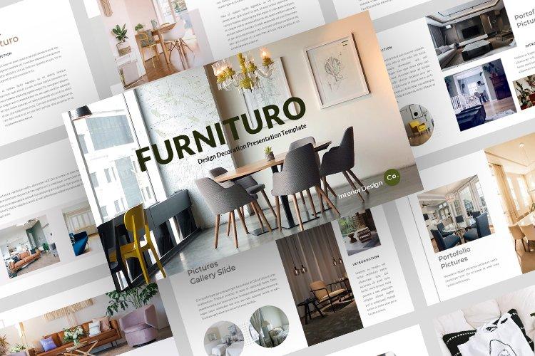 Furnituro Google slides Template example image 1