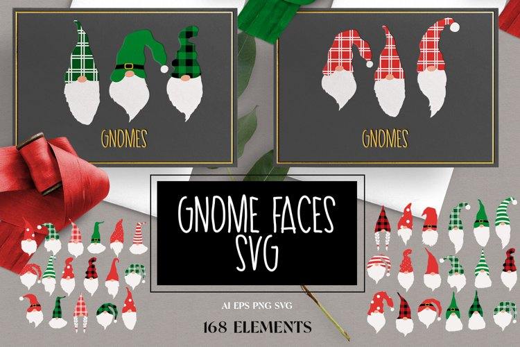 Gnome faces svg example image 1