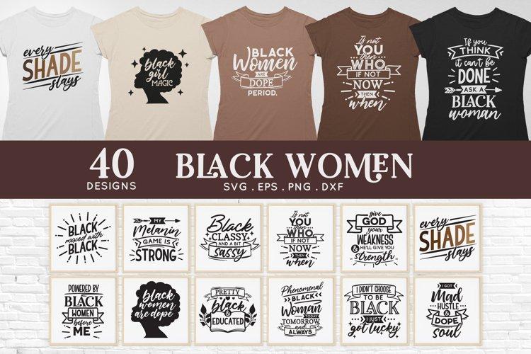 Black Woman svg bundle - Black women black girl svg sxf png
