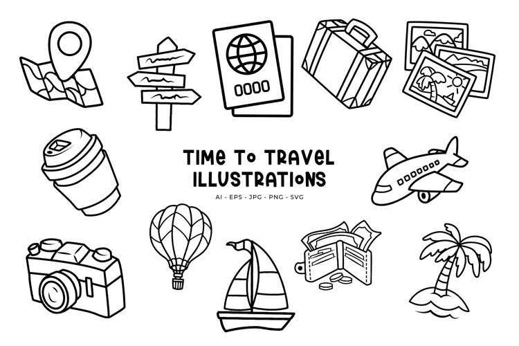 Time To Travel illustrations
