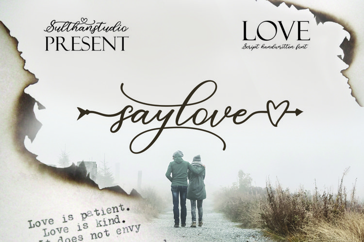 Say love example image 1
