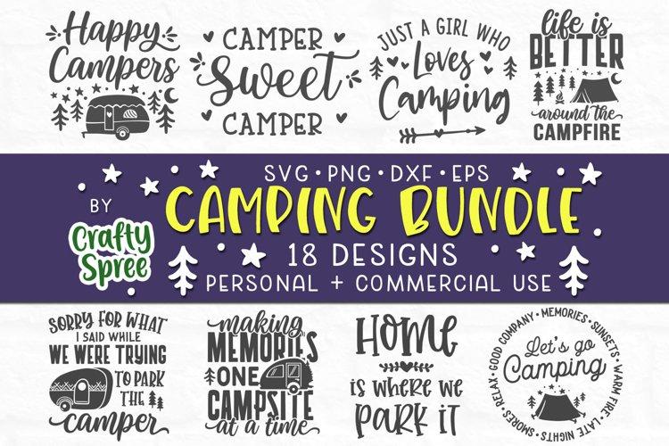 Camping SVG Bundle - Camping SVG - Camping Sign SVG