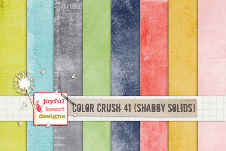 Color Crush 41 {shabby solids}