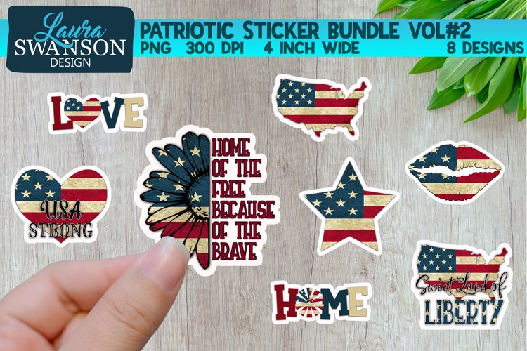Patriotic Sticker Bundle Vol#2 | Digital & Print Sticker Set