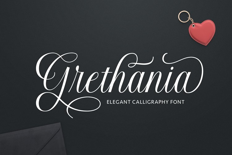Grethania Script example image 1