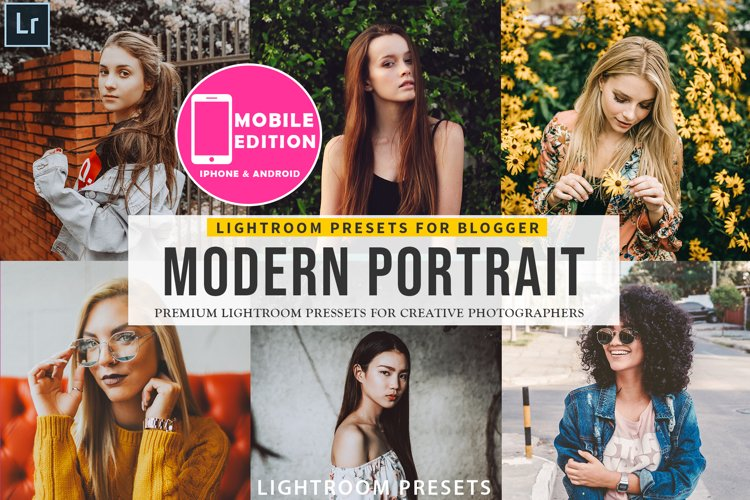 Modern Portait Presets Lightroom example image 1
