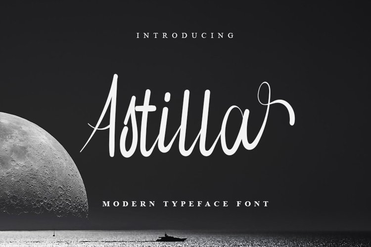 Astilla - Beautiful Script Font example image 1
