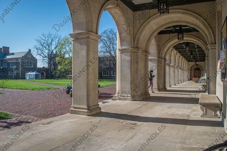 Washington University quadrangle in St Louis example image 1