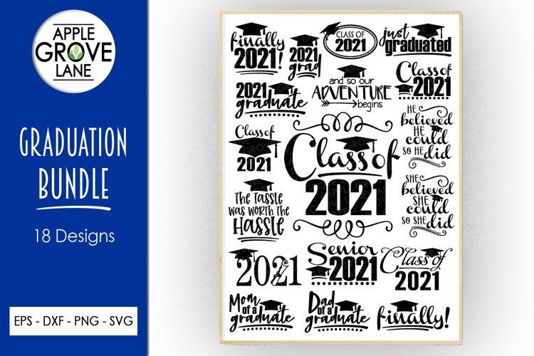 Graduation 2021 Svg Bundle - 18 Designs - Svg Cut Files