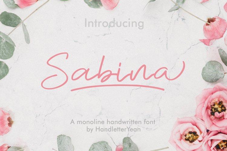 Sabina example image 1