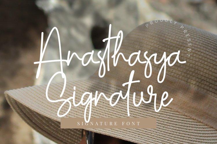 Anasthasya Signature example image 1