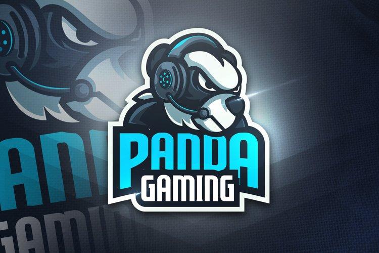 Panda Gaming - Mascot & Esport Logo example image 1
